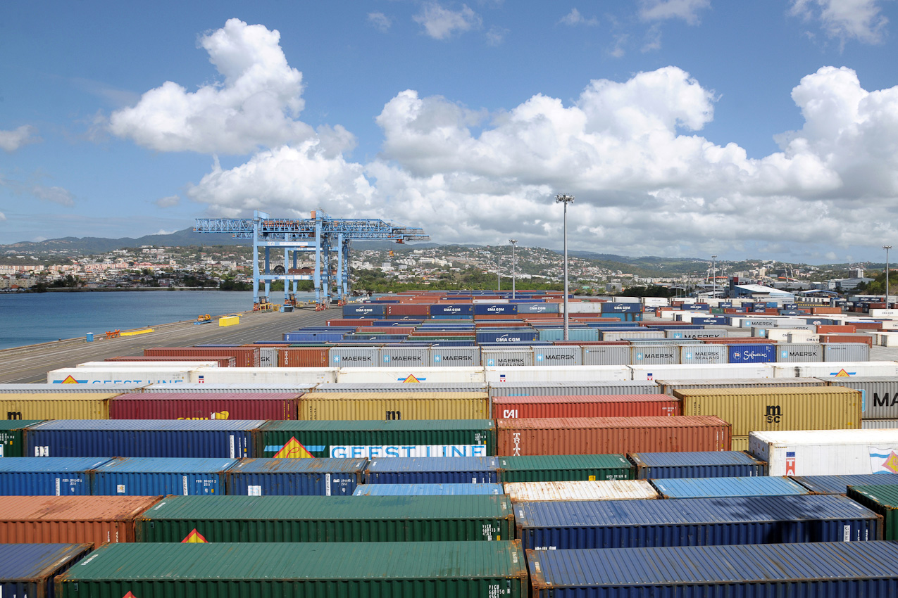 Jean michel andr grand port maritime de la martinique for Chambre de commerce martinique