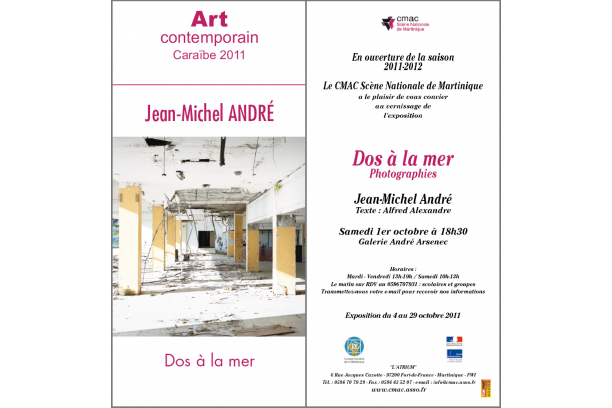 Invitation /// Vernissage /// Dos à la mer