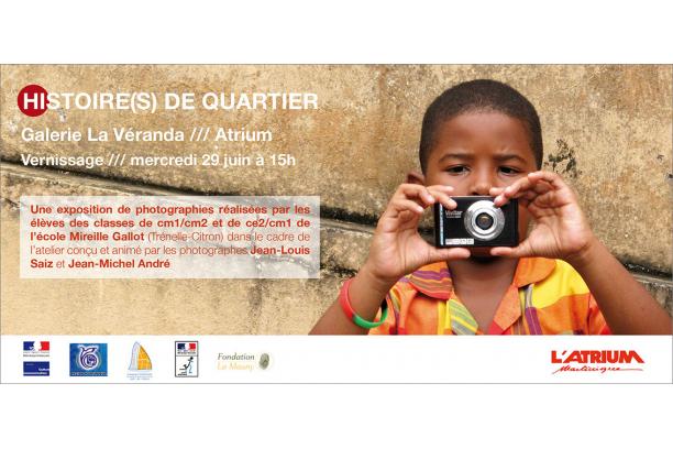 Invitation de l'exposition /// Histoires de quartier